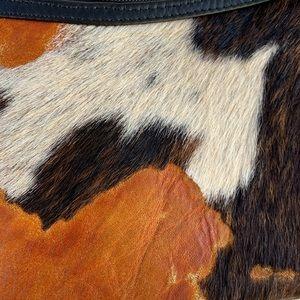Roberto Vascon Bags - Rare Roberto Vascon Cowhide Leather Purse Handbag